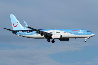 Jetairfly (TUI Airlines Belgium) Boeing 737-8BK SSWL OO-JEF (msn 44271) ZRH (Andi Hiltl). Image: 930135.