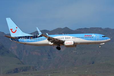 Jetairfly (TUI Airlines Belgium) Boeing 737-8BK SSWL OO-JEF (msn 44271) LPA (Paul Bannwarth). Image: 930134.