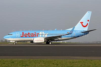 Jetairfly (TUI Airlines Belgium) Boeing 737-7K5 WL OO-JAS (msn 35144) BRU (Wim Callaert). Image: 909444.