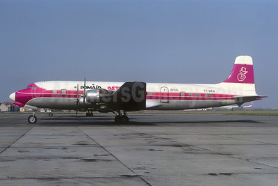 Leased from Fragtflug on May 19, 1971