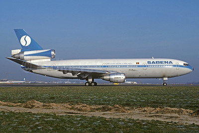 SABENA-Belgian World Airlines (World Airways) McDonnell Douglas DC-10-30CF OO-SLA (msn 47906) BRU (Jacques Guillem Collection). Image: 937156.