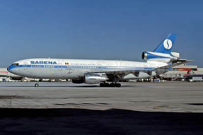 SABENA-Belgian World Airlines McDonnell Douglas DC-10-30CF OO-SLE (msn 47836) ATL (Jerry Stanick - Rob Rindt Collection). Image: 950385.