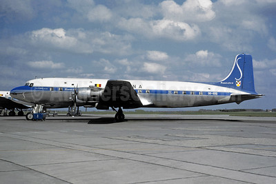 SABENA-Belgian World Airlines Douglas DC-6B OO-SDQ (msn 44695) BRU (Jacques Guillem Collection). Image: 946387.