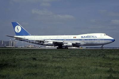 SABENA Boeing 747-129 OO-SGB (msn 20402) BRU (Tony De Bruyn - Bruce Drum Collection). Image: 944372.