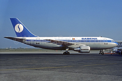 SABENA-Belgian World Airlines Airbus A310-222 OO-SCA (msn 303) BRU (Christian Volpati Collection). Image: 937154.