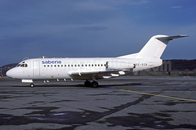 Sabena (DAT) Fokker F.28 Mk. 3000 OO-DJA (msn 11163) ZRH (Rolf Wallner). Image: 935404.