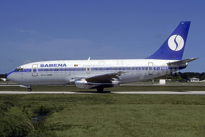 SABENA-Belgian World Airlines-Nordair Boeing 737-229 C-GNDX (OO-SDE) (msn 20911) FLL (Christian Volpati Collection). Image: 937158.