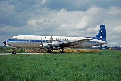 "DC-7C ""Seven Seas"" - Airline Color Scheme - Introduced 1955 - Best Seller"