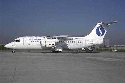 Sabena-Delta Air Transport (DAT) Avro (BAe) RJ85 OO-DJO (msn E2279) STR (Christian Volpati Collection). Image: 946209.