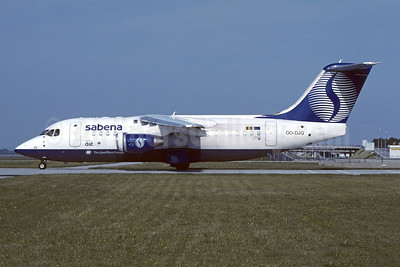 Sabena-Delta Air Transport (DAT) Avro (BAe) RJ85 OO-DJQ (msn E2289) MUC (Christian Volpati Collection). Image: 946210.
