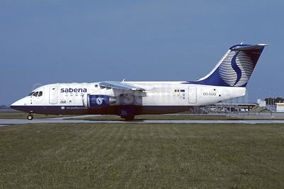 Sabena-Delta Air Transport (DAT) Avro (BAe) RJ85 OO-DJQ (msn E2289) MUC (Christian Volpati Collection). Image: 946210.