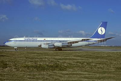 Sobelair Boeing 707-373C OO-SBU (msn 19442) (SABENA colors) ORY (Jacques Guillem). Image: 948287.