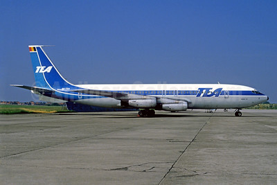 TEA (Trans European Airways) (Belgium) Boeing 707-131 OO-TED (msn 17665) BRU (Christian Volpati Collection). Image: 940066.