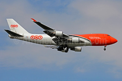 TNT Airways (TNT Global Express) Boeing 747-4HA ERF OO-THB (msn 35234) SIN (Christian Volpati). Image: 909893.