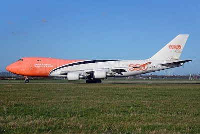 TNT Airways (TNT Global Express) Boeing 747-4HA ERF OO-THB (msn 35234) AMS (Ton Jochems). Image: 913278.