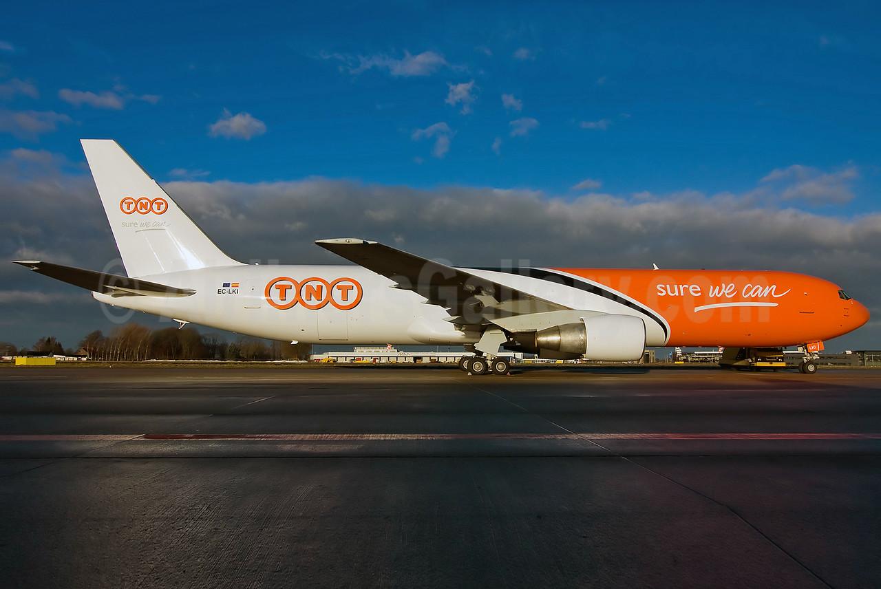 TNT (Gestair Cargo) Boeing 767-383 ER (F) EC-LKI (msn 26544) MST (Bjorn van der Velpen). Image: 905925.