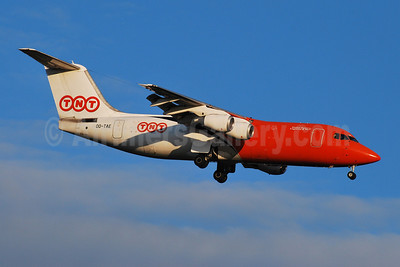 TNT Airways (TNT Global Express) BAe 146-300QT OO-TAE (msn E3182) BRU (Karl Cornil). Image: 906812.