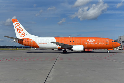 TNT Airways - The People Network (Austria) Boeing 737-4Q8 (F) OE-IAG (msn 25168) OSL (Ton Jochems). Image: 939113.