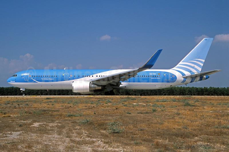 TUI Airlines Belgium (Jetairfly) Boeing 767-341 ER WL OO-TUC (msn 24844) (Christian Volpati Collection). Image: 922239.