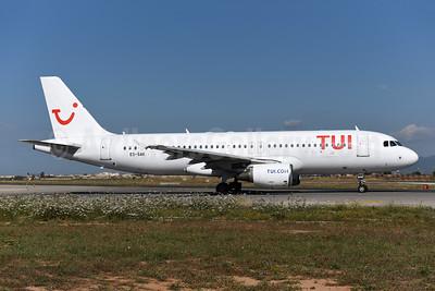 TUI Airlines (Belgium) (SmartLynx Airlines Estonia) Airbus A320-214 ES-SAK (msn 888) PMI (Ton Jochems). Image: 945641.