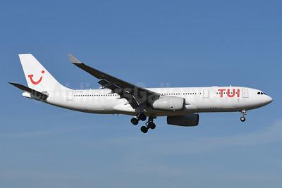 TUI Airlines (Belgium) (AirTanker) Airbus A330-243 G-VYGM (msn 1601) BRU (Karl Cornil). Image: 941147.