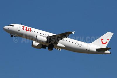 TUI Airlines (Belgium) (SmartLynx Airlines Estonia) Airbus A320-214 ES-SAK (msn 888) PMI (Javier Rodriguez). Image: 937666.
