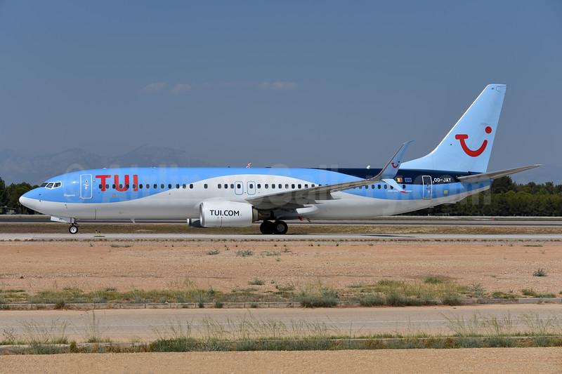 TUI Airlines (Belgium) Boeing 737-8K5 SSWL OO-JAY (msn 40944) AYT (Ton Jochems). Image: 945635.