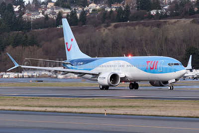 TUI Airlines Belgium's first Boeing 737-8 MAX 8