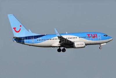 TUI Airlines (Belgium) Boeing 737-7K2 WL OO-JAL (msn 30668) TLS (Robbie Shaw). Image: 937692.