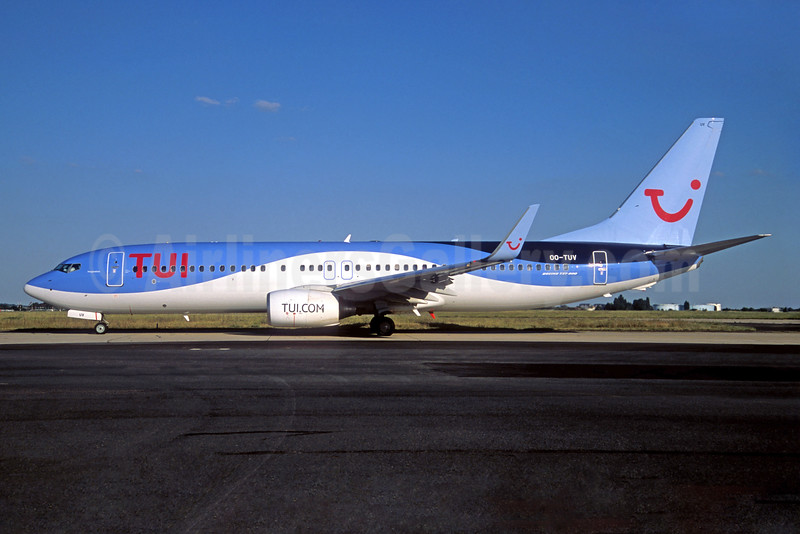 TUI Airlines (Belgium) Boeing 737-86J WL OO-TUV (msn 36883) ORY (Jacques Guillem). Image: 935153.