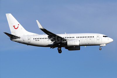 TUI Airlines Belgium (Jetairfly) Boeing 737-7K2 WL OO-JAL (msn 30668) PMI (Javier Rodriguez). Image: 932999.