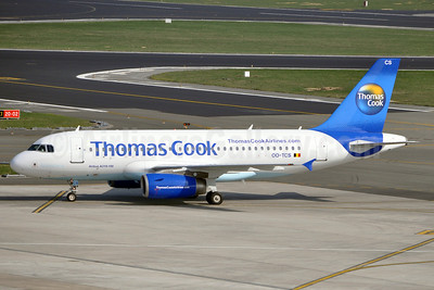 Thomas Cook Airlines (Belgium) Airbus A319-132 OO-TCS (msn 2362) BRU (Karl Cornil). Image: 901828.