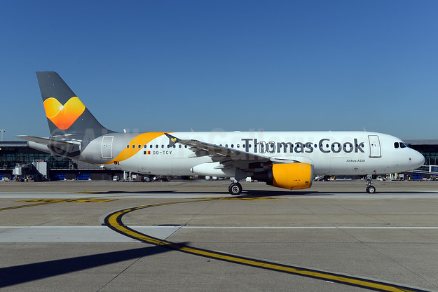 Thomas Cook Airlines (Belgium) Airbus A320-214 OO-TCV (msn 1968) AMS (Ton Jochems). Image: 929721.