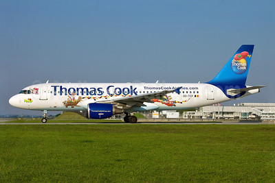 Thomas Cook Airlines (Belgium) Airbus A320-214 OO-TCP (msn 653) (Gnome Plop) MUC (Arnd Wolf). Image: 905144.