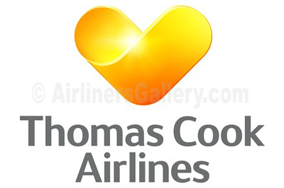 1. Thomas Cook Airlines Belgium logo