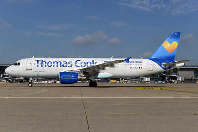 Thomas Cook Airlines (Belgium) Airbus A320-214 OO-TCJ (msn 1787) (Sunny Heart) BRU (Ton Jochems). Image: 924747.