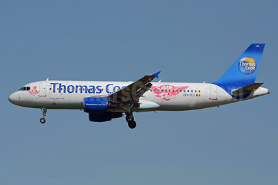 Thomas Cook Airlines (Belgium) Airbus A320-214 OO-TCJ (msn 1787) (Air Flair) BRU (TMK Photography). Image: 913304.