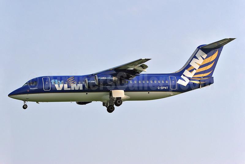 VLM Airlines (Flightline) BAe 146-300 G-BPNT (msn E3126) SEN (Keith Burton). Image: 900749.