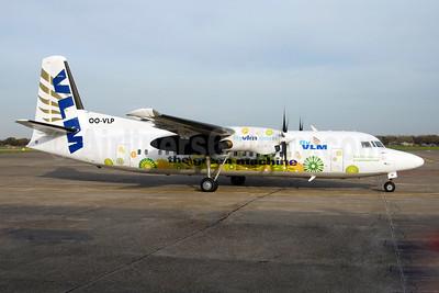 VLM Airlines Fokker F.27 Mk. 050 OO-VLM (msn 20209) (The Green Machine) RTM (Ton Jochems). Image: 924996.