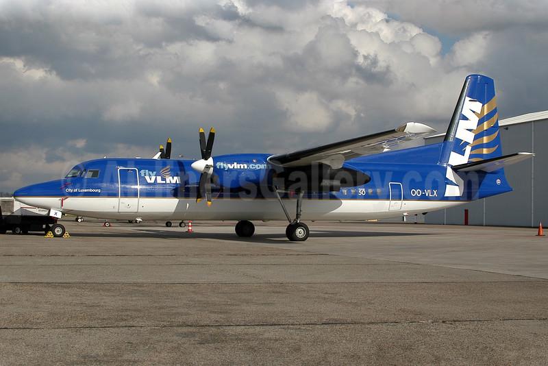 VLM Airlines Fokker F.27 Mk. 050 OO-VLX (msn 20177) RTM (Ton Jochems). Image: 903799.