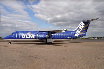 VLM Airlines (Flightline) BAe 146-300 G-BPNT (msn E3126) SEN (Antony J. Best). Image: 927357.