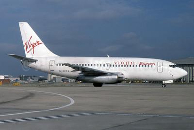 Virgin Express (Belgium) Boeing 737-204 G-BECG (msn 21335) LHR (SPA). Image: 932020.