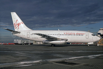 Virgin Express (Belgium) Boeing 737-204 G-BECH (msn 21336) LHR (SPA). Image: 932021.