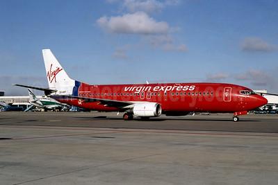 Virgin Express (Belgium) Boeing 737-43Q OO-VEP (msn 28489) AMS (Ton Jochems). Image: 953297.