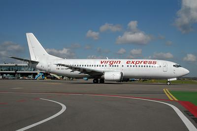 Virgin Express (Belgium) Boeing 737-43Q OO-VBR (msn 28493) AMS (Ton Jochems). Image: 953296.
