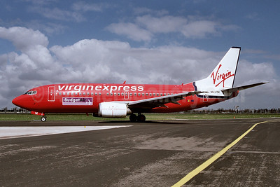 Virgin Express (Belgium) - BudgetAir Boeing 737-3M8 OO-LTM (msn 25070) AMS (Ton Jochems). Image: 953298.