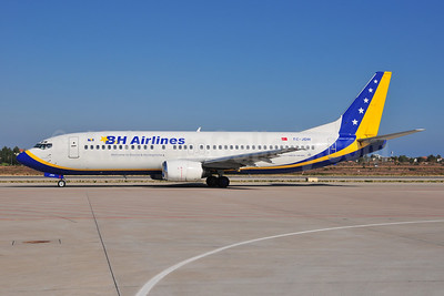 B and H Airlines Boeing 737-4Y0 TC-JDH (msn 25184) AYT (Ton Jochems). Image: 907395.