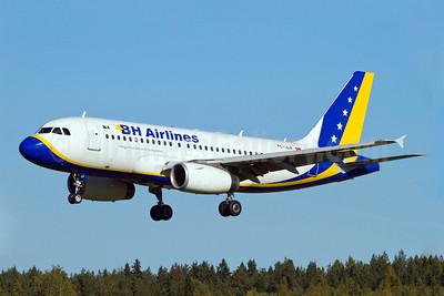 B and H Airlines Airbus A319-132 TC-JLR (msn 3142) ARN (Stefan Sjogren). Image: 905508.