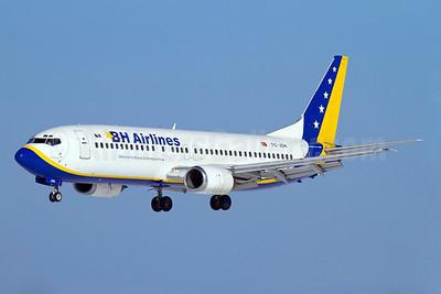 B and H Airlines Boeing 737-4Y0 TC-JDH (msn 25184) ARN (Stefan Sjogren). Image: 907396.