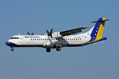 B and H Airlines ATR 72-212 E7-AAE (msn 465) ZRH (Andi Hiltl). Image: 907398.